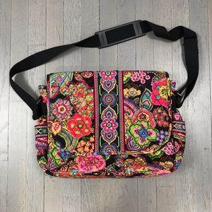 Vera Bradley Commuter Quilted Laptop Shoulder Bag
